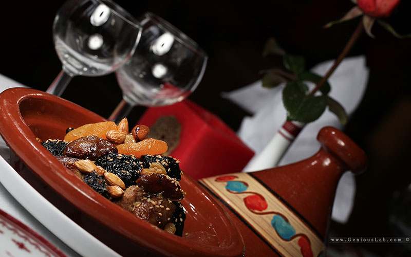 Moroccan gastronomy photography
