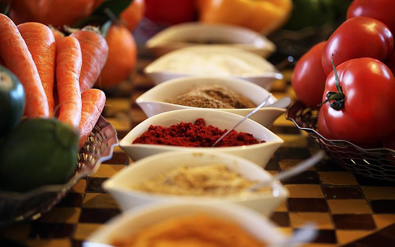 Moroccan kitchen