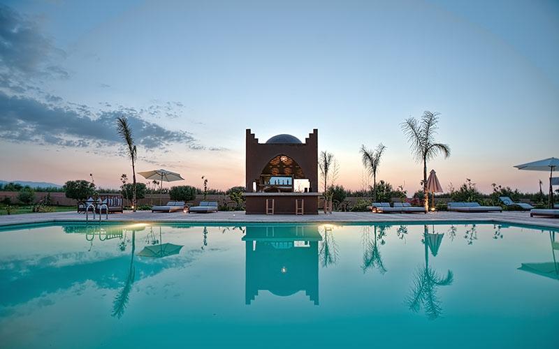 Couché de soleil Marrakech