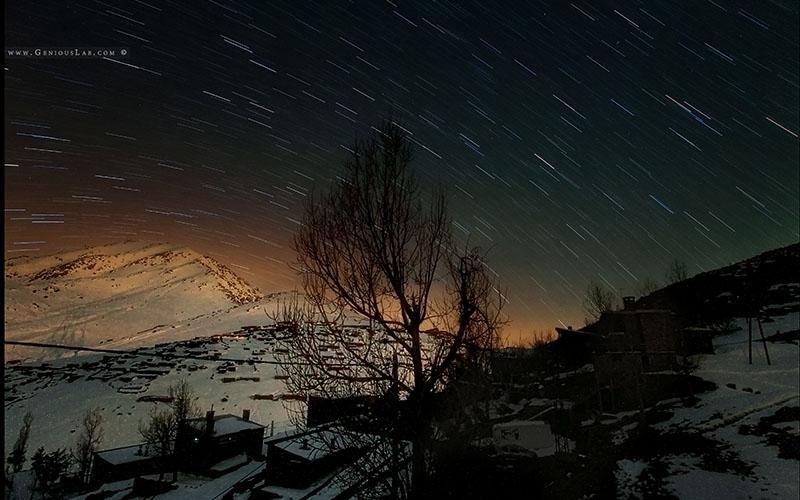 Photo Oukaimden de nuit
