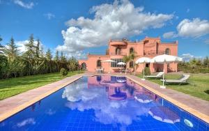 Photographe villa à Marrakech