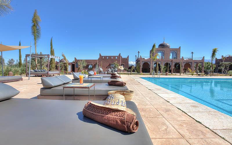 Shooting Riad Marrakech