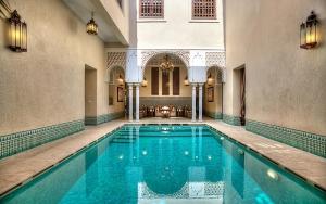 Photographie riad à Marrakech