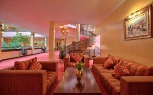 Réception de l'hotel semiramis Marrakech