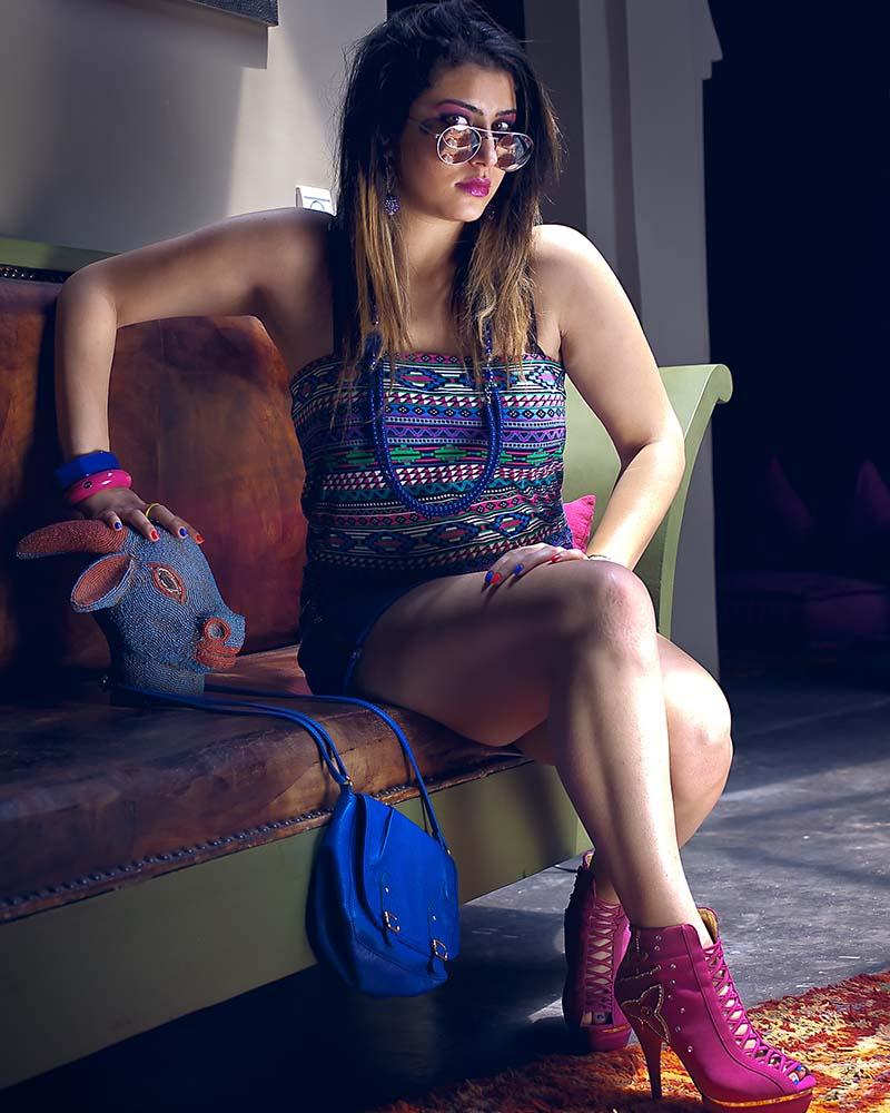 Photoshooting fashion à la Kasbah Igoudar