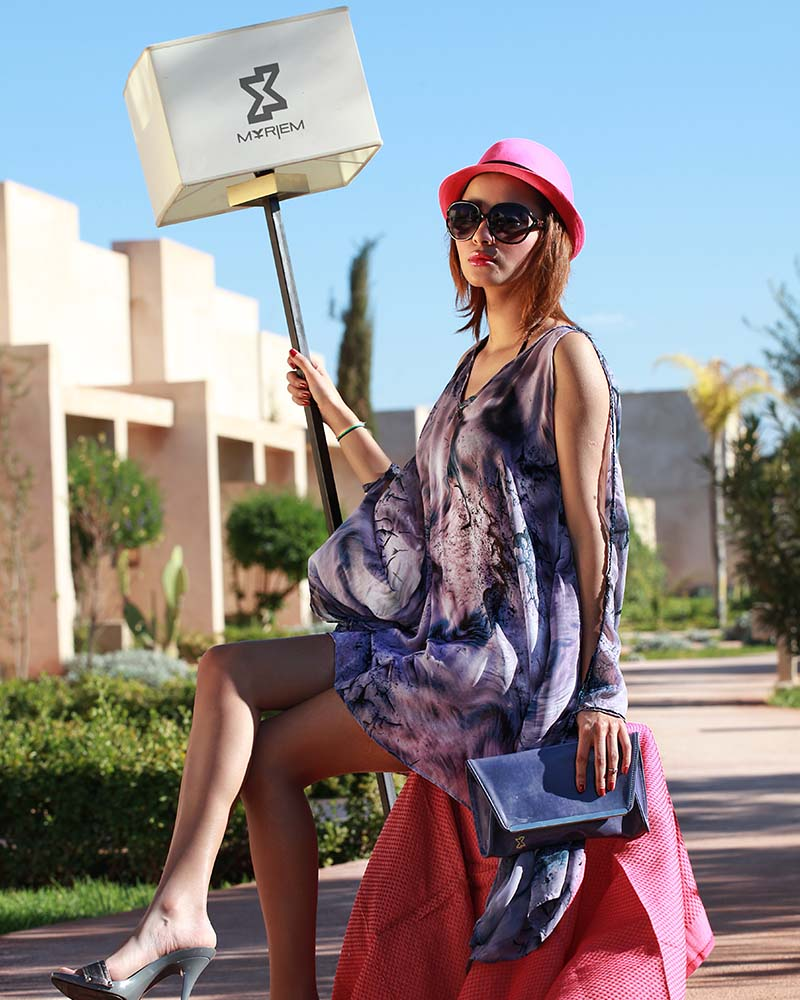 Professional fashion photographer in Marrakech